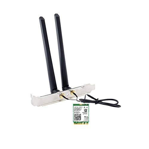 インテル Intel Wi-Fi 6 AX200 AX200NGW Wi-Fi 6 802.11ax + Bluetooth 5.0 M.2/NGFF ワイヤレスカード ア...