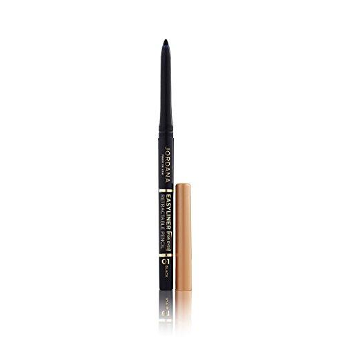 (3 Pack) JORDANA Easyliner For Eyes Retractable Pencil - Black