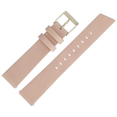 Liebeskind Berlin Uhrenarmband 18mm Leder Beige Glatt - B_LT-0199-LQ