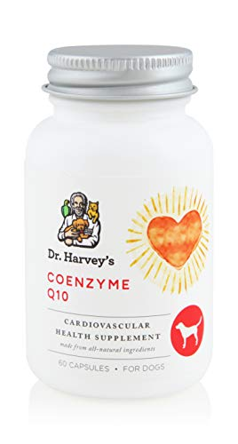 Dr. Harvey's Coenzyme Q10 - Antioxidant & Cardiovascular Support for Dogs, 60 Capsules