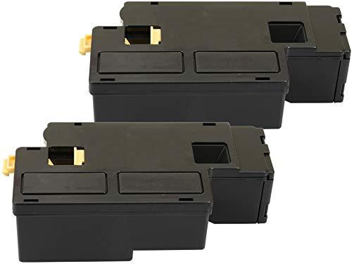 TONER EXPERTE® Toner Kit 2 Nero compatibile per Xerox 106R01630 Phaser 6000 6010 V/N WorkCentre 6015 V/N V/NI V/B (2000 pagine)