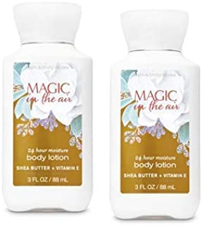Bath and Body Works 2 Pack 24 Hour Moisture Magic In The Air Travel Size Body Lotion 3 Oz.