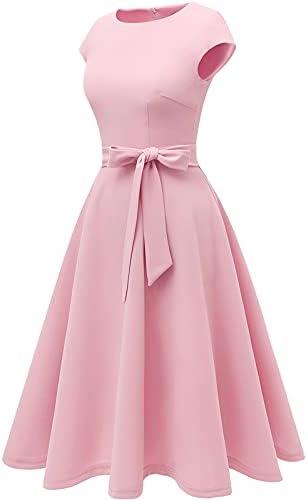 Bright pink bridesmaid dresses _image4