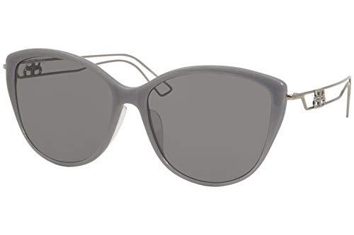 balenciaga occhiali Balenciaga Occhiali da sole BB0057SK 004 occhiali Donna colore Grigio lente grigio taglia 55 mm