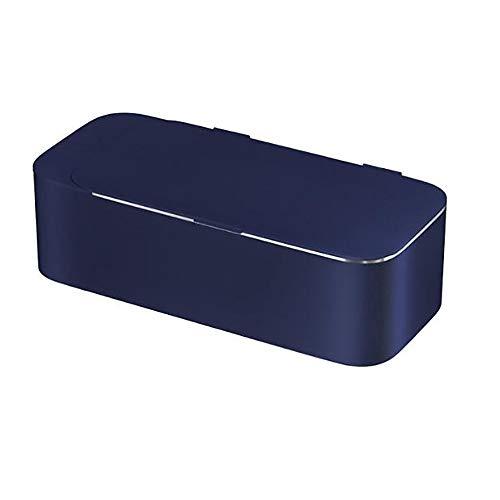 Ultraschallreiniger/Haushaltskleinreiniger One Touch Energiesparend Stromsparend Zeitgesteuerte 20W Hochleistungsbrille Schmuck Zahnersatz,Blue
