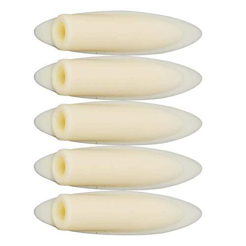 100 Stück Hartholz Holzstopfen Taschenloch Jig Plug 3/8-Zoll Hartholz Möbel Stecker Knopfstopfen für Arbeitswerkzeug Zubehör(yellow)