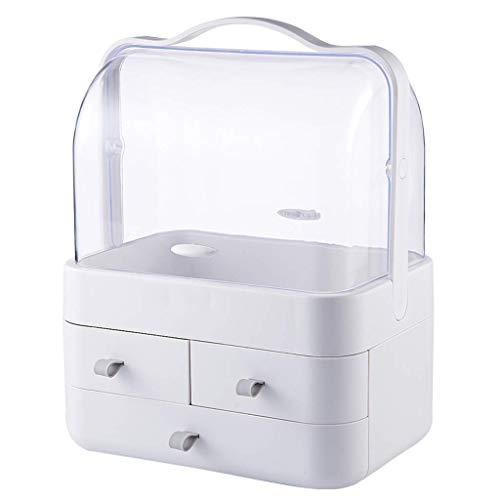 BOX Cosmétique Transparente En Plastique Boîte de Rangement de Bureau Lipstick Bijoux Soins de La Peau Produits de Stockage Affichage Boîte 29.7 × 20.4 × 38.5Cm