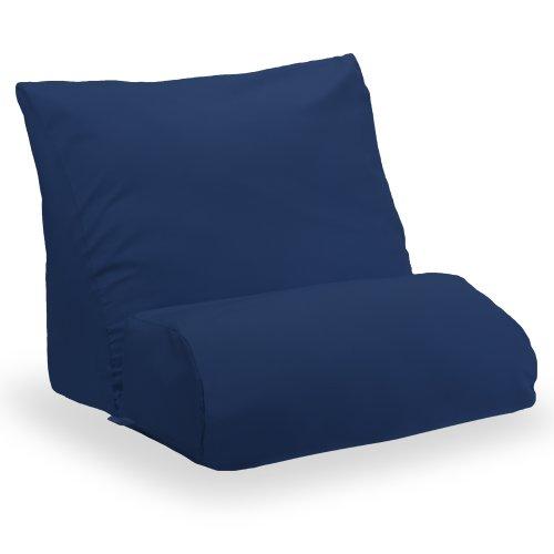 Contour Flip Pillow Case (Navy Blue, Standard)