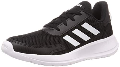 adidas Tensaur Run K, Zapatillas para Correr Unisex Niños, Core Black/FTWR White/Core Black, 39 1/3 EU