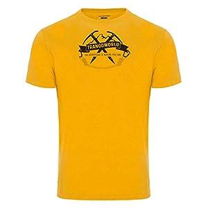 Trangoworld Baldo Camiseta, Hombre, Amarillo Oliva, 2XL