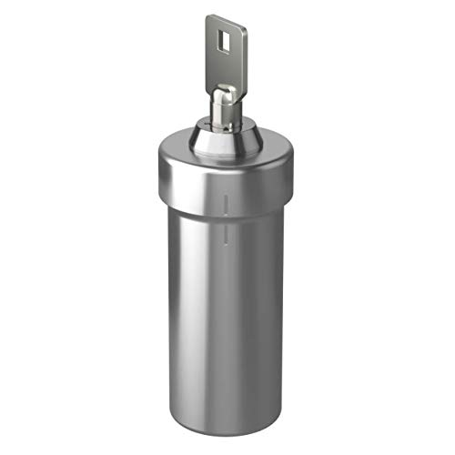 Ezy Dose Ezy Dose Locking Container │Secure Small Valuable Items │Stainless Steel Canister Locks with Key