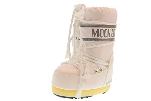 Moon Boot Unisex-Erwachsene Schneestiefel, weiß (white 006), 35-38 EU
