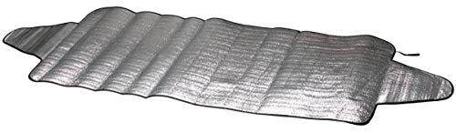 CarComfort Auto PKW Eisfolie, Sonnenschutz Folie Gr. L 230x110 cm, EPE Beschichtung, Thermo Scheibenabdeckung, Frontscheiben Abdeckung