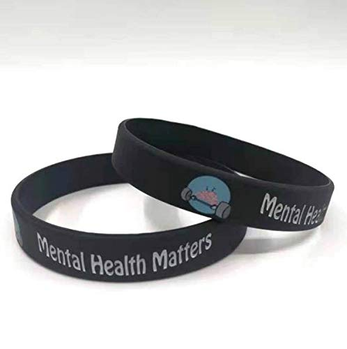 D4 Mental Health Matters Silicone Bracelet