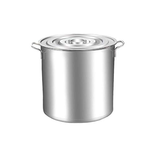 Vegetable Pot,Stainless Steel Stock Pot with Lid,Professional Induction-Safe Stainless Steel Stock Pot with Lid - Suitable for All Stove(29 Litre/36.5cm) KaiKai