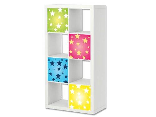 Stikkipix Estrellas Cascarillo para muebles | ER13 | Adhesivos adecuados para el...