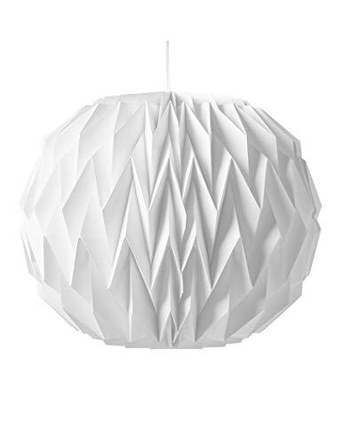 Generique - Boule Origami Blanche 28 x 37cm