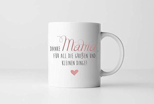 Personalisiertes Geschenk für die Beste Mama, Tasse mit Name auf der Rückseite und Spruch