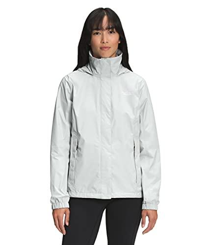 The North Face Women's Resolve 2 Jacket, Tin Grey, Medium
