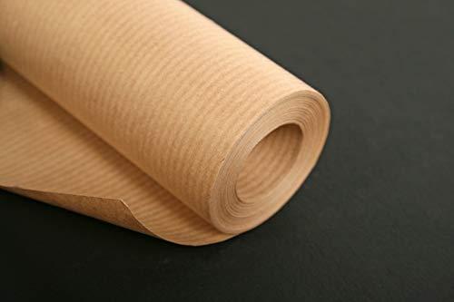 Kraftpapier 95771C - Rollo de papel de estraza (3 x 0,7 m), color marrón