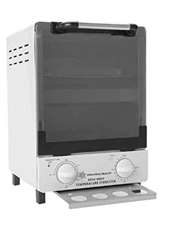 Gabinete de Esterilizador Estética 12L, Alta Temperatura + Infrarrojos, Caja de Desinfección, Equipo de Esterilización Gran Capacidad