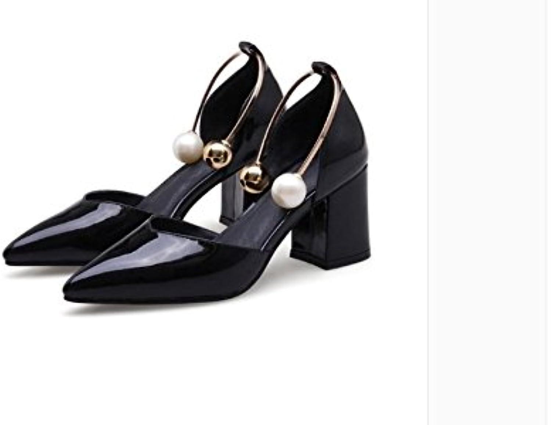 WHW Women's fine Heel Wedges Heels Peep Toe Sandals Heels Outdoor Sandals