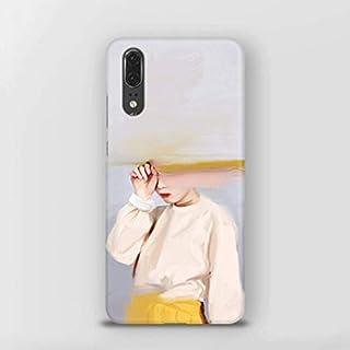 hongwei1 Huawei P20携帯電話シェルアンチ秋プラスチックマットハードシェル携帯電話保護シェル ?色:Monster-
