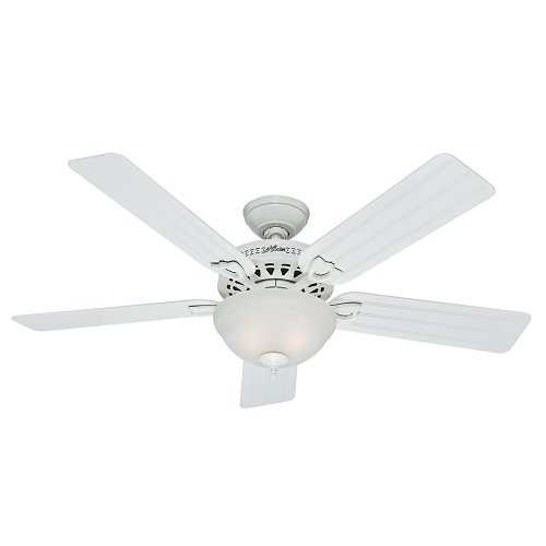 Hunter Beachcomber Indoor / Outdoor Ceiling Fan with LED Light and Pull Chain Control