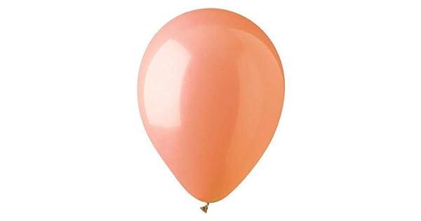 CTI Balloons Foil Balloon 912816 Standard Apricot 10 Pk 12 Multicolor