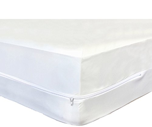 Soft Micro Polyester Cot Size Breathable Comfort Mattress Bed Bug Protector Fits Camp Size Matteress 31'X75'