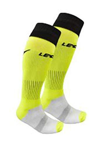 LEGEA C164 - Calcetines oficiales del árbitro de la Ficha Aia 2019/2020, Hombre, C164, amarillo FLUO, Baby (Size 1)