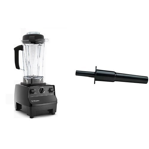 Vitamix 5200 Blender, Black & Vitamix Accelerator/Tamper Tool
