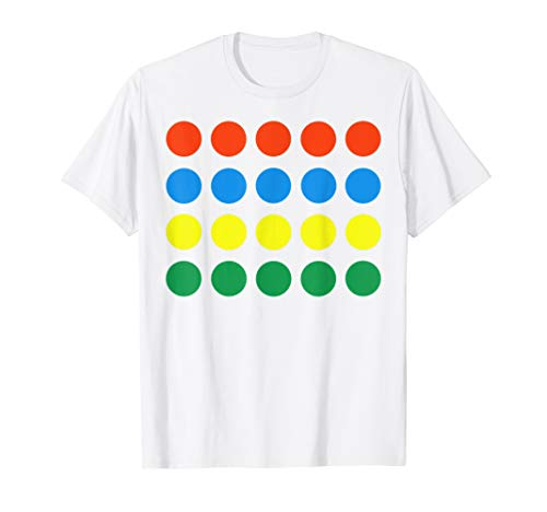Funny Twister Game Halloween Party Office School Costume Tee T-Shirt