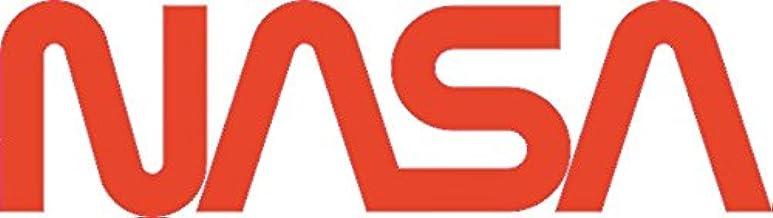 U24 Aufkleber Nasa Schriftzug Rot Autoaufkleber Sticker Konturschnitt Auto