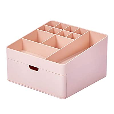 Dalanpa Makeup Organizer - Vanity Box with Draw...