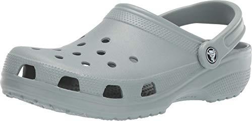 Crocs 10001 Classic, Sabots Mixte Adulte - Vert (Dusty Green) - 39/40 EU