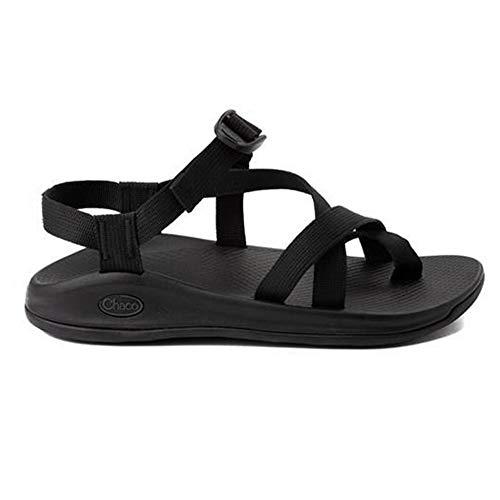 Chaco Men's Z/Boulder 2 Active Toe Loop Sandal (Numeric_10) Solid Black
