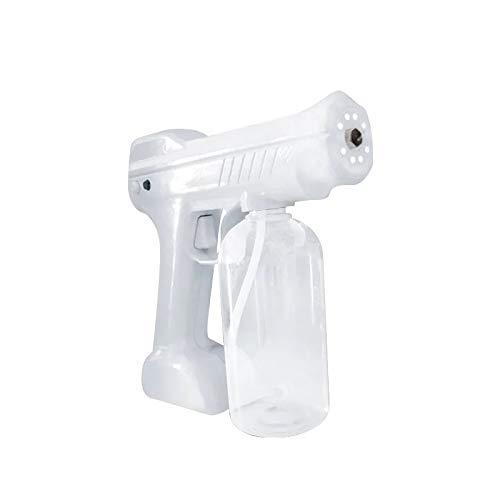 Nano Steam Spray Gun Disinfectant Fogger Blue Ray Anion Cordless Sterilizer, Nano Atomizer Steam Gun Fogger Machine,Cleaning, Sanitizing Home, Schools, Day Care, Office, Car by Spread Pixie Dust TM