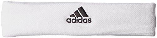 adidas Erwachsene Tennis Stirnband, White/Black, OSFM