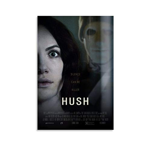 SDFQ Horror Movie Posters Hush 2016 Canvas Art Poster Picture Modern Office Family Bedroom Decorative Posters Gift Wall Decor Painting Posters