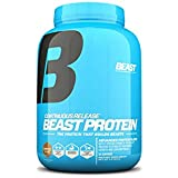 Beast Sports Nutrition Beast Protein 25 Grams of High-Quality Protein with 5 Protein Sources for Lean Muscle including Whey Concentrate and Isolate. Low Fat Low Carbs. 4lbs, 52 Servings, Chocolate