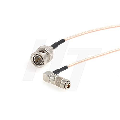 HangTon Kamera-Monitor Mini SDI auf SDI Video Signal Koaxial Adapter Kabel für Blackmagic RG179 75 Ohm