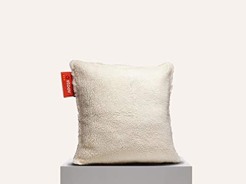 Stoov Ploov 45x45 Woolly Heizkissen Woolly White