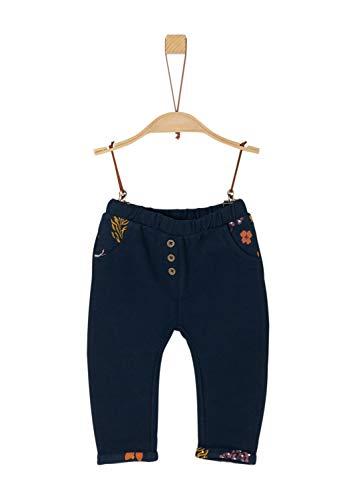 s.Oliver Baby-Mädchen 65.909.75.4978 Hose, Blau (Dark Blue 5952), (Herstellergröße: 62)