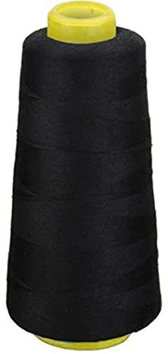 Diverse kleuren rollen van katoenen garen for naaimachine Hand (zwart)