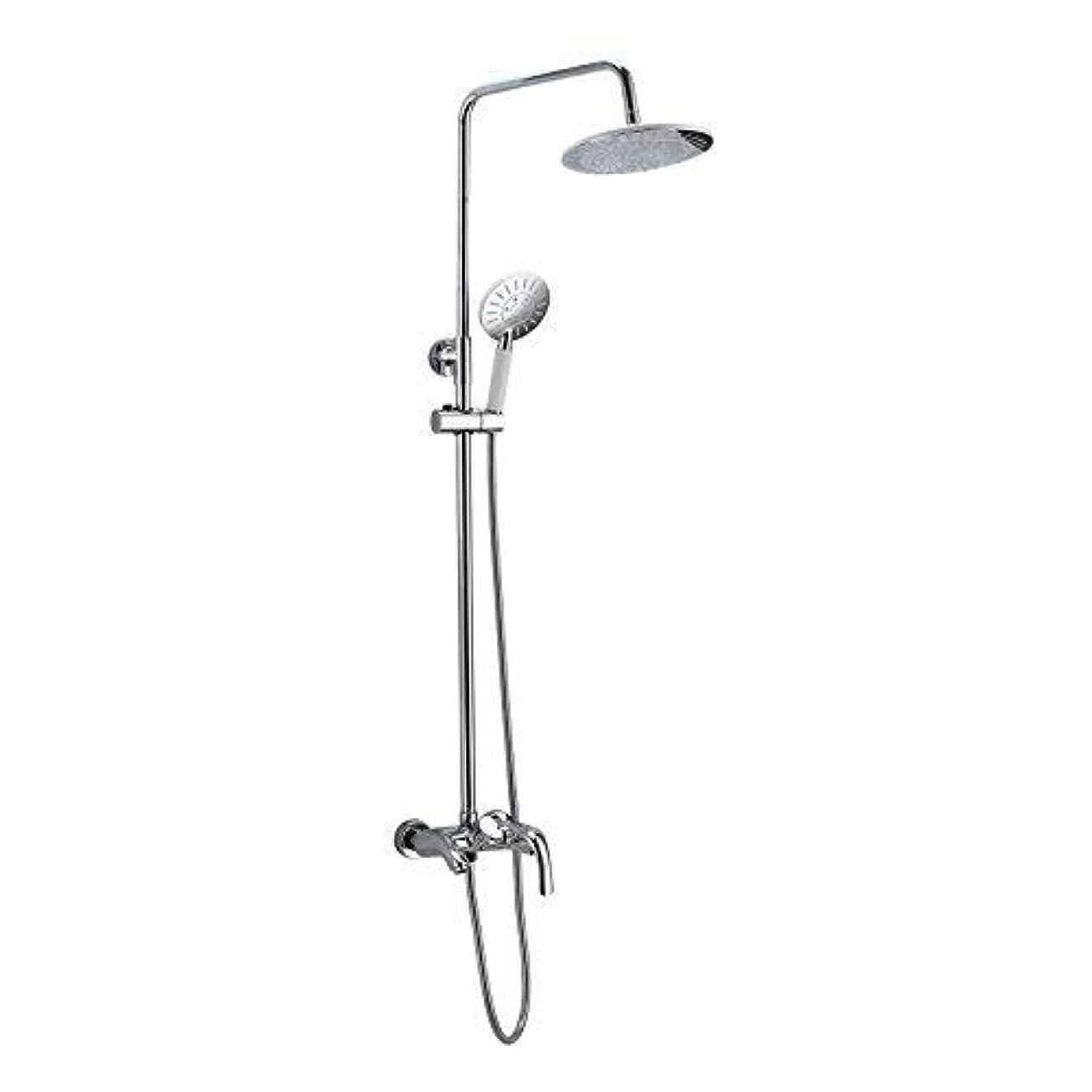 してはいけません死風刺シャワーシステム、浴室のシャワーの蛇口は銅を持ち上げます3つの持ち上がる冷たい浴室のシャワーSwitchmodernシンプルで贅沢な品質の保証家の装飾家の使用