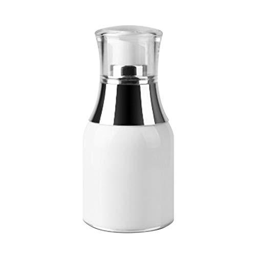 Demarkt 1 Stück 30ml leer tragbare Mini Airless Vakuum-Pump-Flasche Gläser Bajonett Creme Lotion Spender Kosmetik Make-up Emulsion Aufbewahrungsbehälter Behälter Reisezubehör