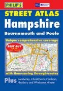 Philip's Street Atlas Hampshire, Bournemouth and Poole: Pocket Edition (Philip's Street Atlases S.)