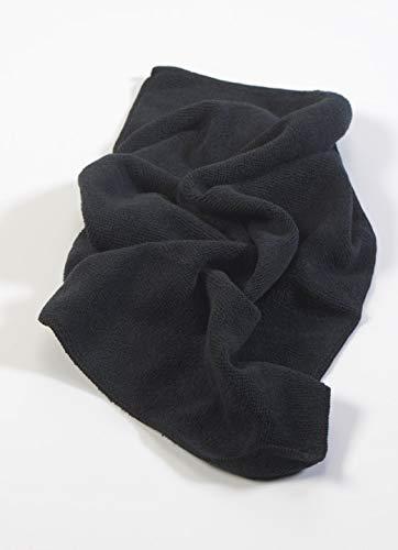 Chiffons d'usage général de qualité supérieure Noir X10