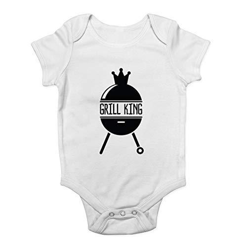 DKISEE Mono unisex para bebé con diseño de parrilla y barbacoa, color...